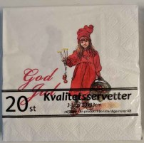 Servietten God jul 4.50