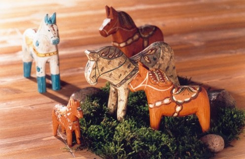 Dalarna Pferd dala pferde
