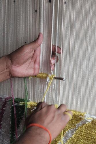Handgeknüpfte Schurwollteppiche