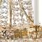 Kristallkronleuchter Läckö 6 Arme Gold/Brilliant