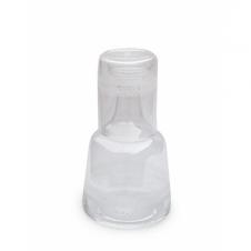 Nachttischflasche Lagerkrans mit Glas