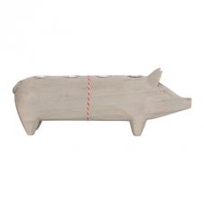Holzschwein naturfarben