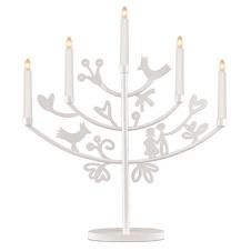 """Kerzenleuchter """"Eden"""" weiß"""