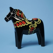 Dalapferd schwarz