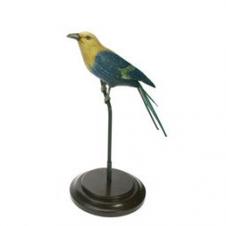 Vogel auf Ständer