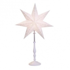 Kleiner Stern mit Fuß, weiß