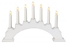 Kerzenleuchter Eva weiß