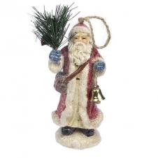 Weihnachtsmann Ornament mit Glocke