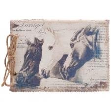 Notizbuch mit Pferdemotiv