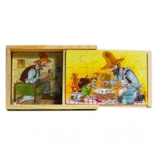 """Schubladenpuzzle """"Petterson und Findus"""""""