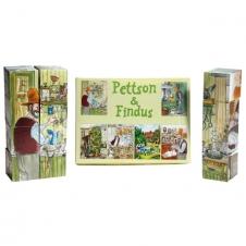 """Bausteinpuzzle """"Petterson und Findus"""""""