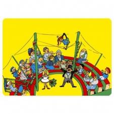 """Tischunterlage """"Pippi im Zirkus"""""""