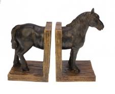 Buchstütze Pferd