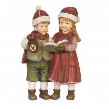 Kinderpaar mit Buch