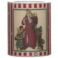 Lampion Weihnachtsbaum rot