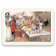 """Tischset """"Die Weihnachtstafel in Sundborn"""" (4 Stück)"""