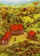 """Poster """"Petterson (Garten)"""""""