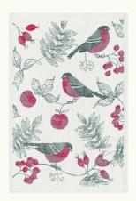 Küchenhandtuch Vinterfågel