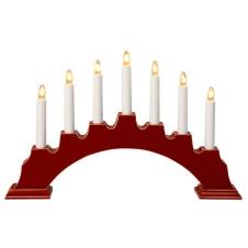 Kerzenleuchter Eva rot