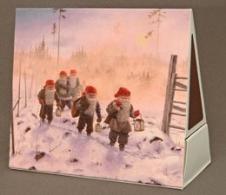 Weihnachtliche Streichholzschachtel