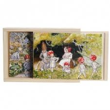 """Schubladenpuzzle """"Kinder des Waldes"""""""