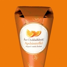 Apfelsinen-Schokoladentrüffel
