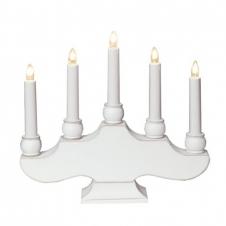 Kerzenhalter Hanna weiß