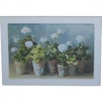 Bild im Bilderrahmen (Blumen)
