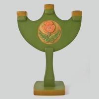 Kerzenhalter - grün