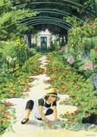 """Poster """"Linnea im Garten (Garten)"""""""