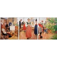 """Kunstdruck """"Nun ist wieder Weihnachten"""""""