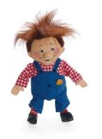Puppe Karlsson auf dem Dach