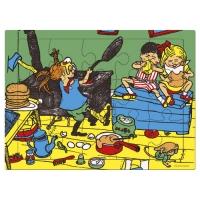 "Holzpuzzle ""Pippi Langstrumpf"""