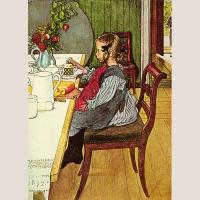 """Poster """"Das düstere Frühstück der Siebenschläferin """""""